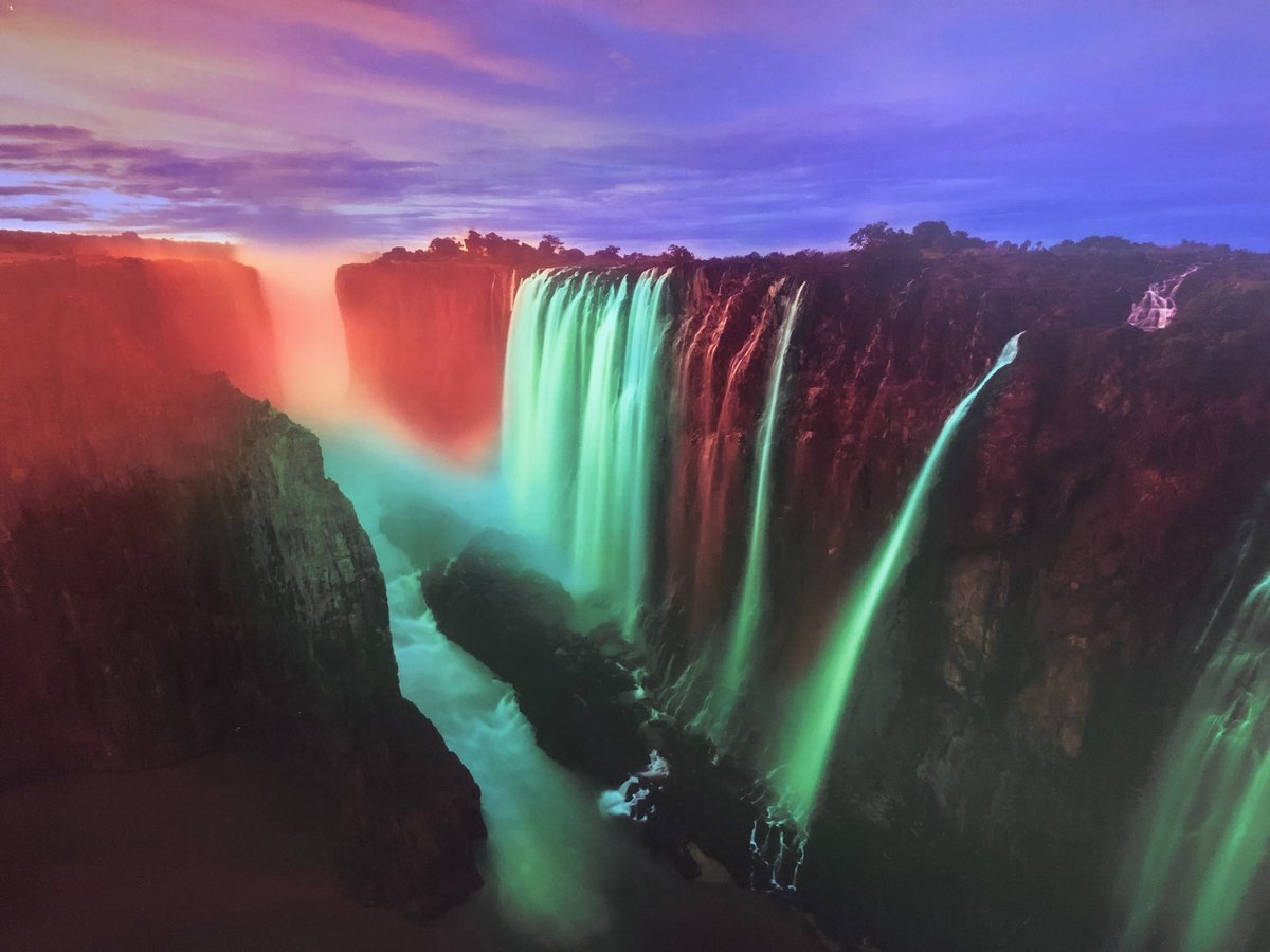 Delighted that Victoria Falls in Zambia will light green for St. Patrick's Day 2019. So positive to see new countries coming on board. #GlobalGreening