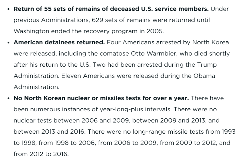 """In a new analysis, @BruceKlingner of the conservative Heritage Foundation throws some cold water on Trump's claims of unprecedented success with North Korea and concludes """"no tangible progress"""" on denuclearization. https://www.heritage.org/defense/report/second-us-north-korea-summit-must-focus-substance-not-style…"""