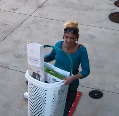 SHARE - The subject pictured is suspected of theft at Walmart in Frisco. If you recognize this person or have additional information, please message us or call 972-292-6200. Reference report #19001282.