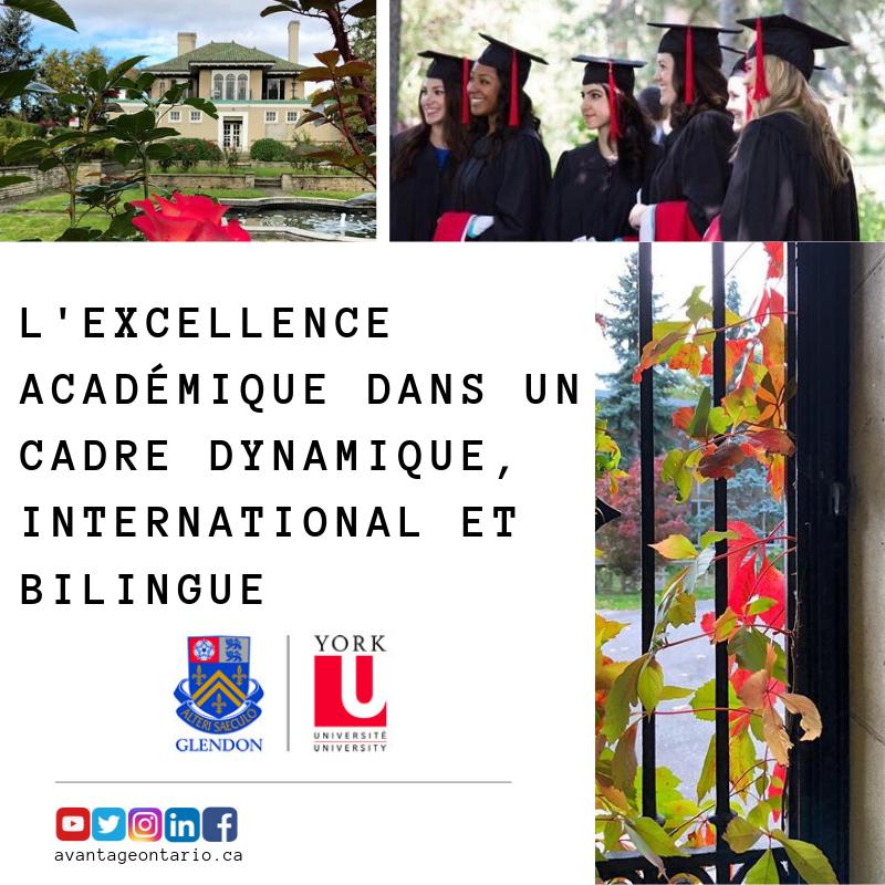 Glendon est l'un des seuls campus d'arts libéraux du Canada offrant une variété de programmes et de certificats universitaires en anglais et en français à tous les niveaux et avec une perspective internationale.  #glendoncampus #avantageontario #Toronto #Ontario #Canada #campus