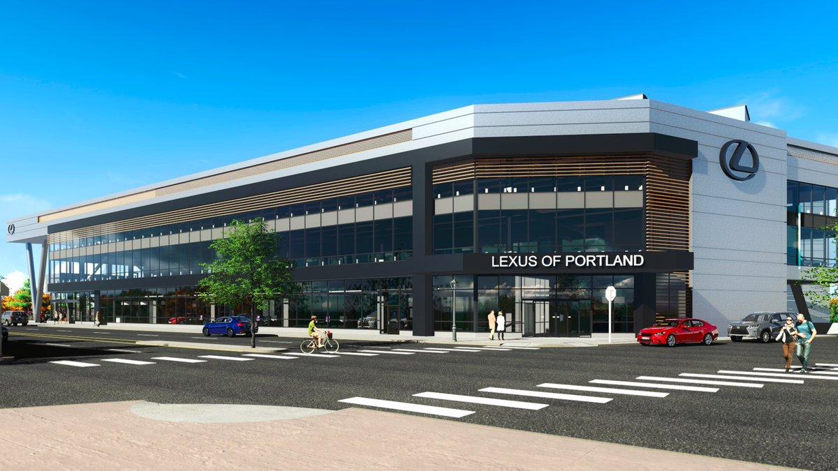 Lexus Dealership Oregon >> Chuck Slothower On Twitter The Lexus Dealership Planned