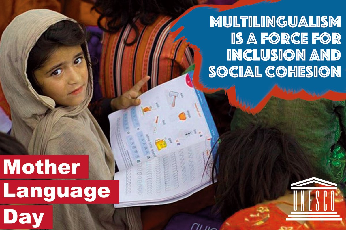 On #MotherLanguageDay, let us celebrate the linguistic diversity and multilingualism that make up the living wealth of our world!  https://t.co/ki3DqPASk0   #IndigenousLanguages