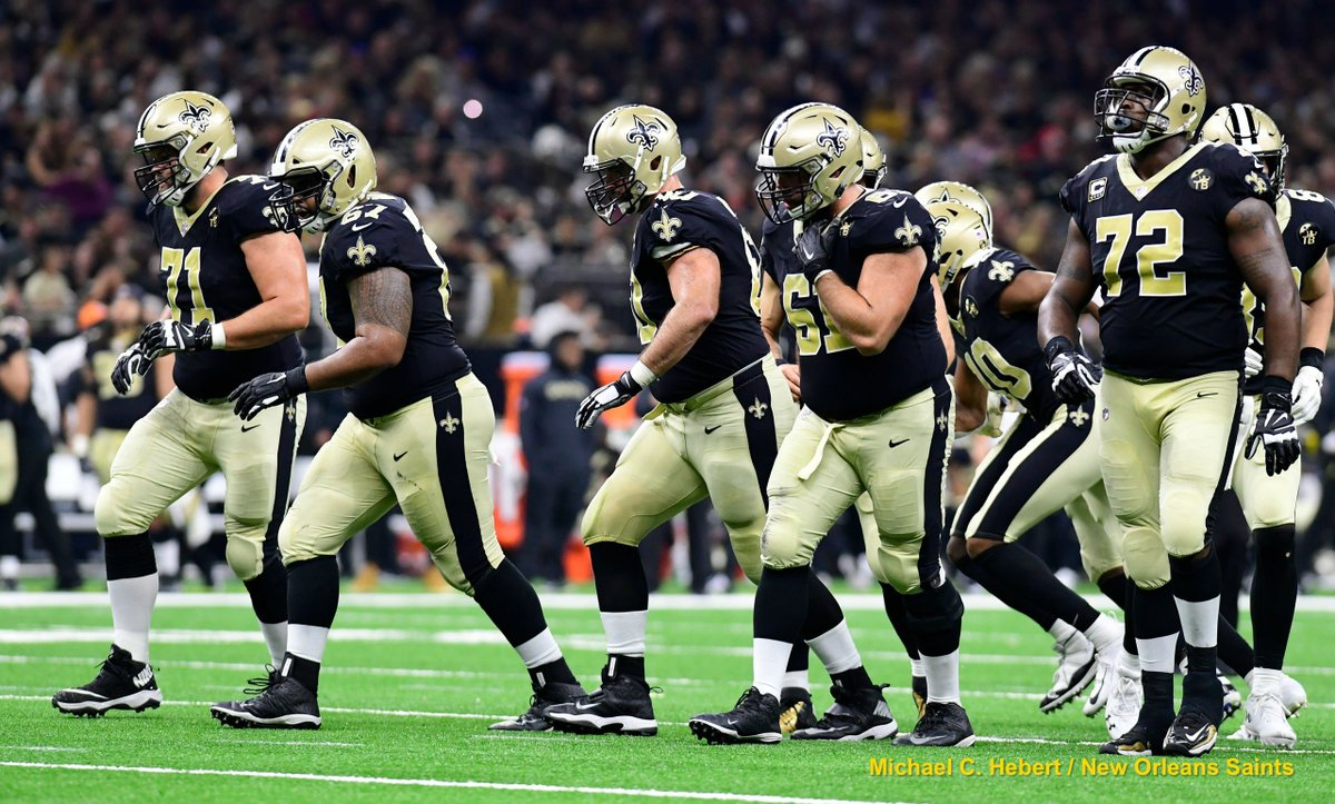 It all starts up front 🙌  Best of the Saints in 2018 - Top 75 Offensive Line photos: https://t.co/f1yFFUzwsT