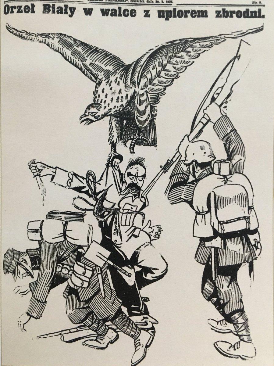 Karykatury Piłsudskiego i Dmowskiego. Która lepsza? 😁