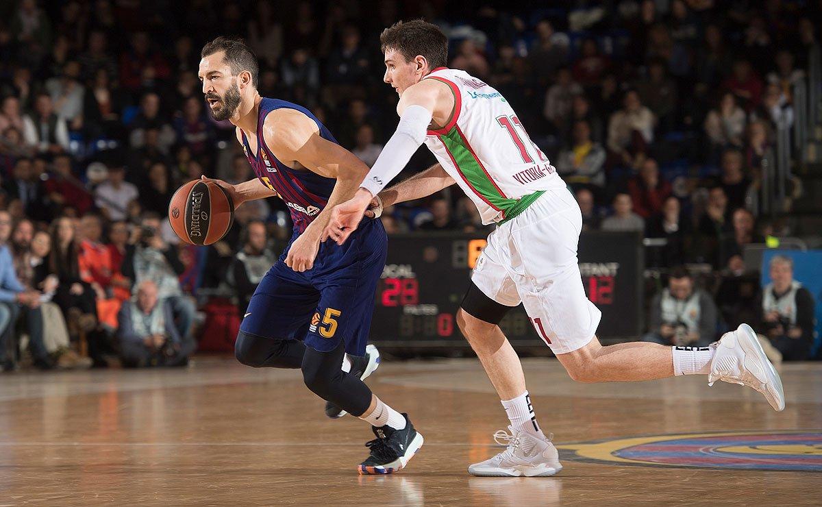 #Baloncesto | Final del @FCBbasket 77 - 67 @Baskonia #Jornada23 #euroliga