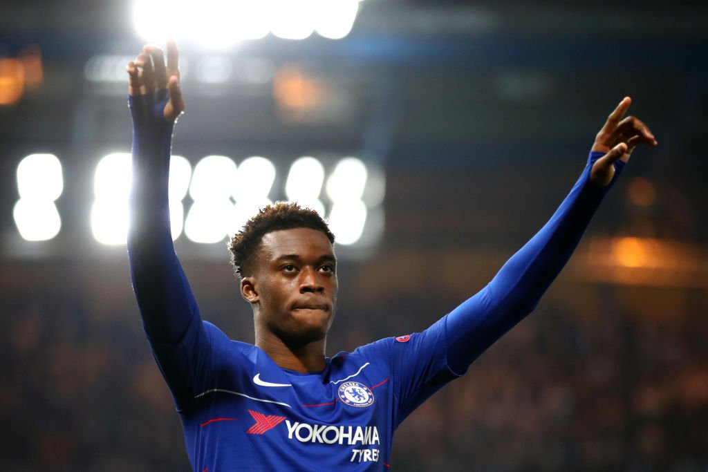 Callum Hudson-Odoi's game by numbers vs. Malmo:  100% aerials won 89% passing accuracy 76 touches 9 take-ons won 3 chances created  2 through-balls 1 foul won 1 shot 1 goal  Proved his point. 👏