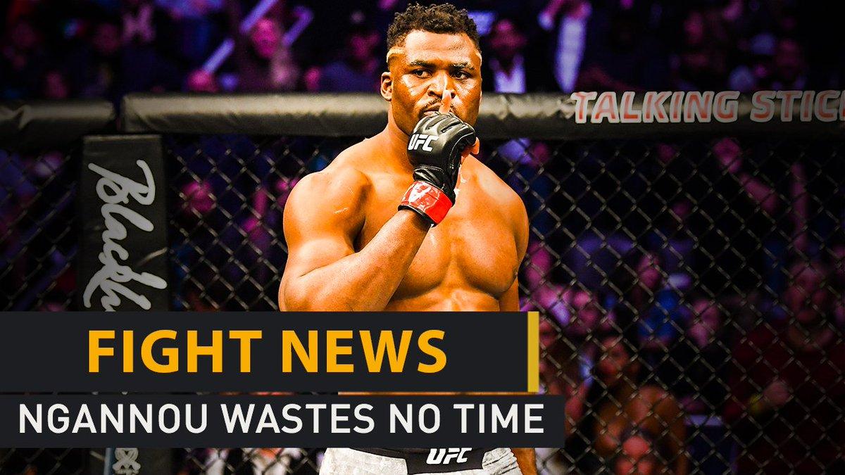 Ngannou spoils Velasquez's UFC return, ONE have a new bantamweight muay thai champ, plus Tyson Fury signs an exclusive TV deal in the US.  Fight News 📹http://unbt.in/zInb50lTtjL  #Ngannou #Velasquez #UFC #UFCPhoenix #MMA #WeAreONE #ONEChampionship #tysonfury #boxing #FightNews