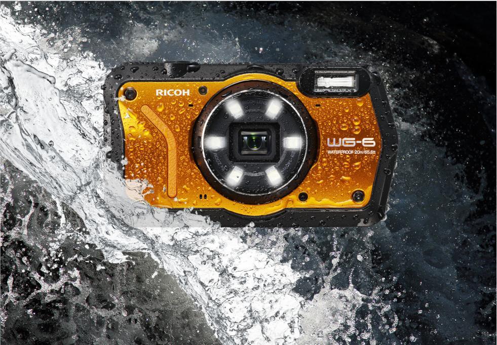 Presentamos la nueva cámara ultra resistente Ricoh WG-6, una compacta capaz de sumergirse 20 metros en el agua y resistir caídas desde 2,1 metros   http://bit.ly/2ShKNJF