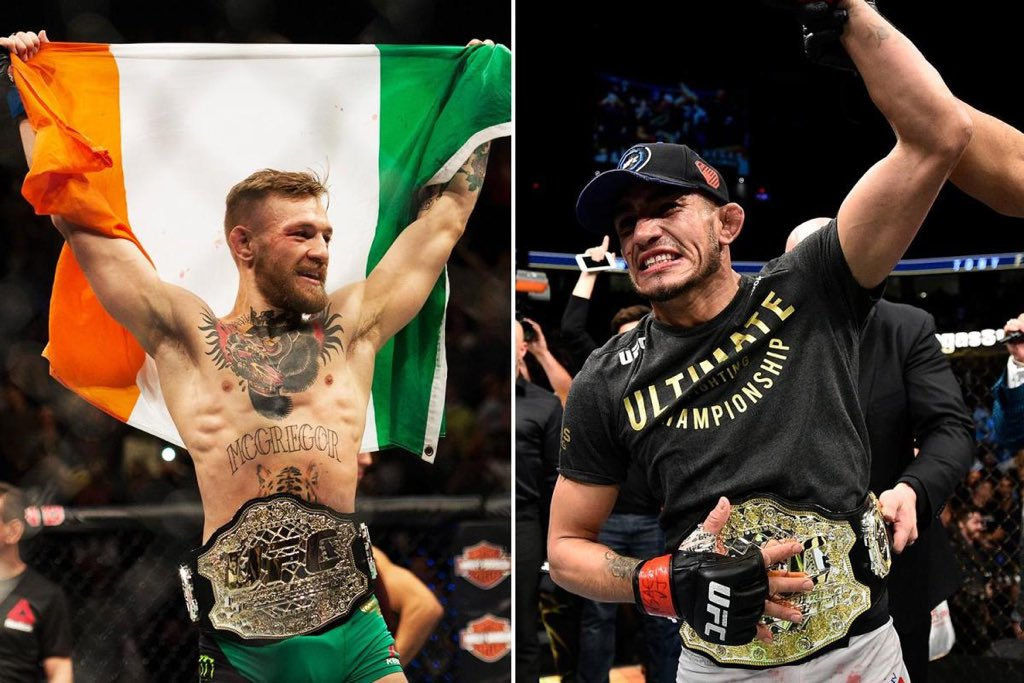 Cowboy lost all the big fights! Robbie Lawler, Nate Diaz , Rafael DosAnjos , Jorge Masvidal, Benson Henderson and Anthony Pettis he is not on top of the division! Sorry but facts are important! If @TheNotoriousMMA 🆚 @TonyFergusonXT that's a fight for the title eliminator #ufc235