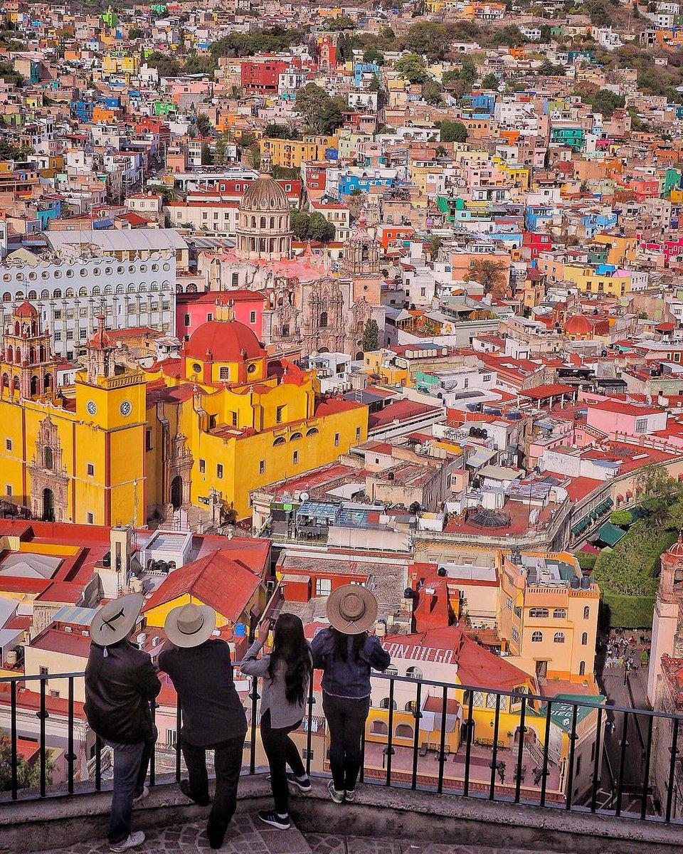 Mirador del Pípila en Guanajuato.