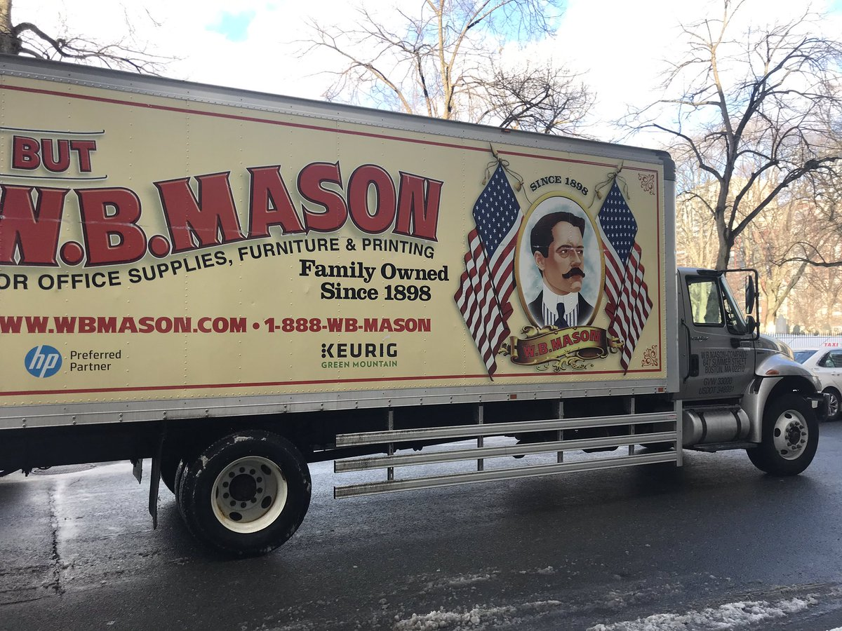 "Colin Durrant on Twitter: ""WB Mason is a Harvard vendor and"