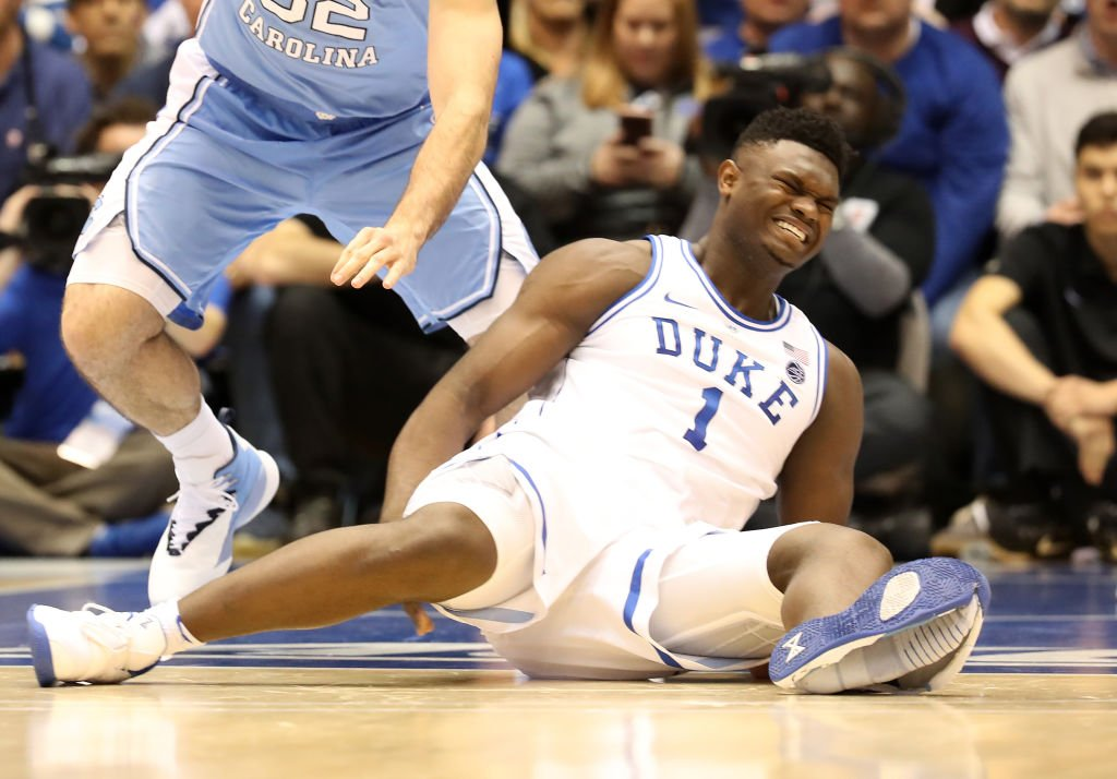 🔊@GetUpESPN host @JalenRose joins the show to discuss Zion Williamson's injury and what he should do next. After Dark podcast: https://es.pn/2Em1bFB