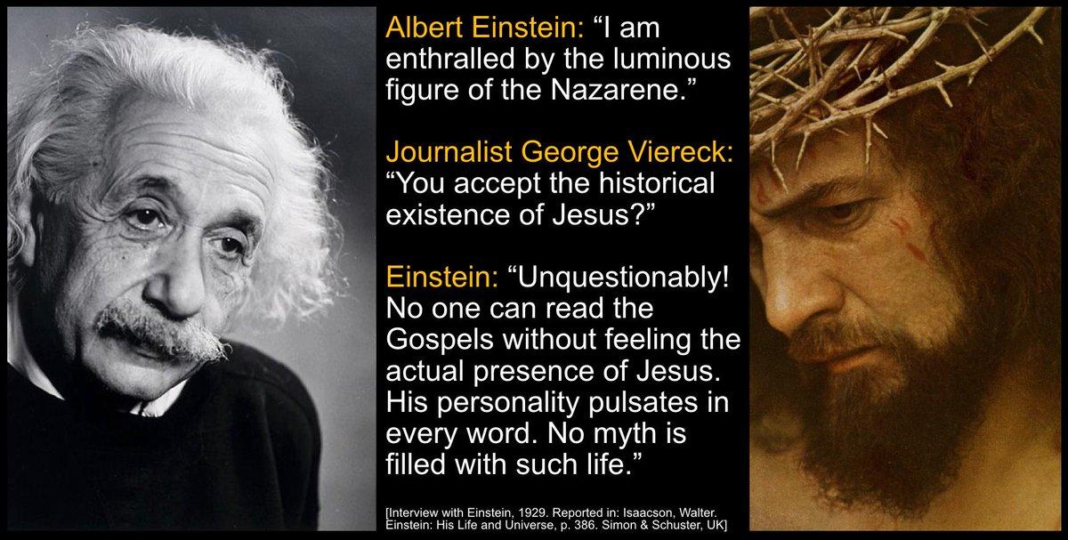einstein jesus quote