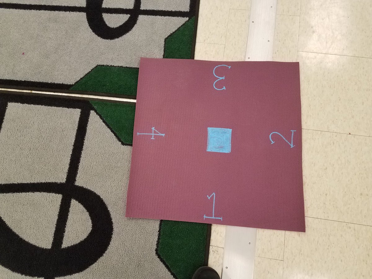 test Twitter Media - Mats for square dancing to identify places and partner numbers. Opposite side numbers for stations. @LyonsMill @MusicBCPS @shanejensen78 @schneckbk @cohn_amy #squaredancing #folkdancing #musicteacher #musiceducation #elmused https://t.co/hPhdY2BbVY