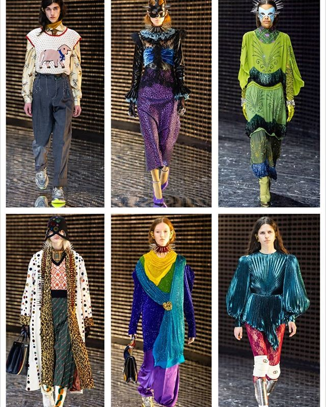 Alessandro Michele for Gucci: sartorial inspiration for us Earth aliens. #gucci #alessandromichele #fashion #runway #fallwinter2019 #fall2019#thursdaythoughts https://ift.tt/2GX80PE