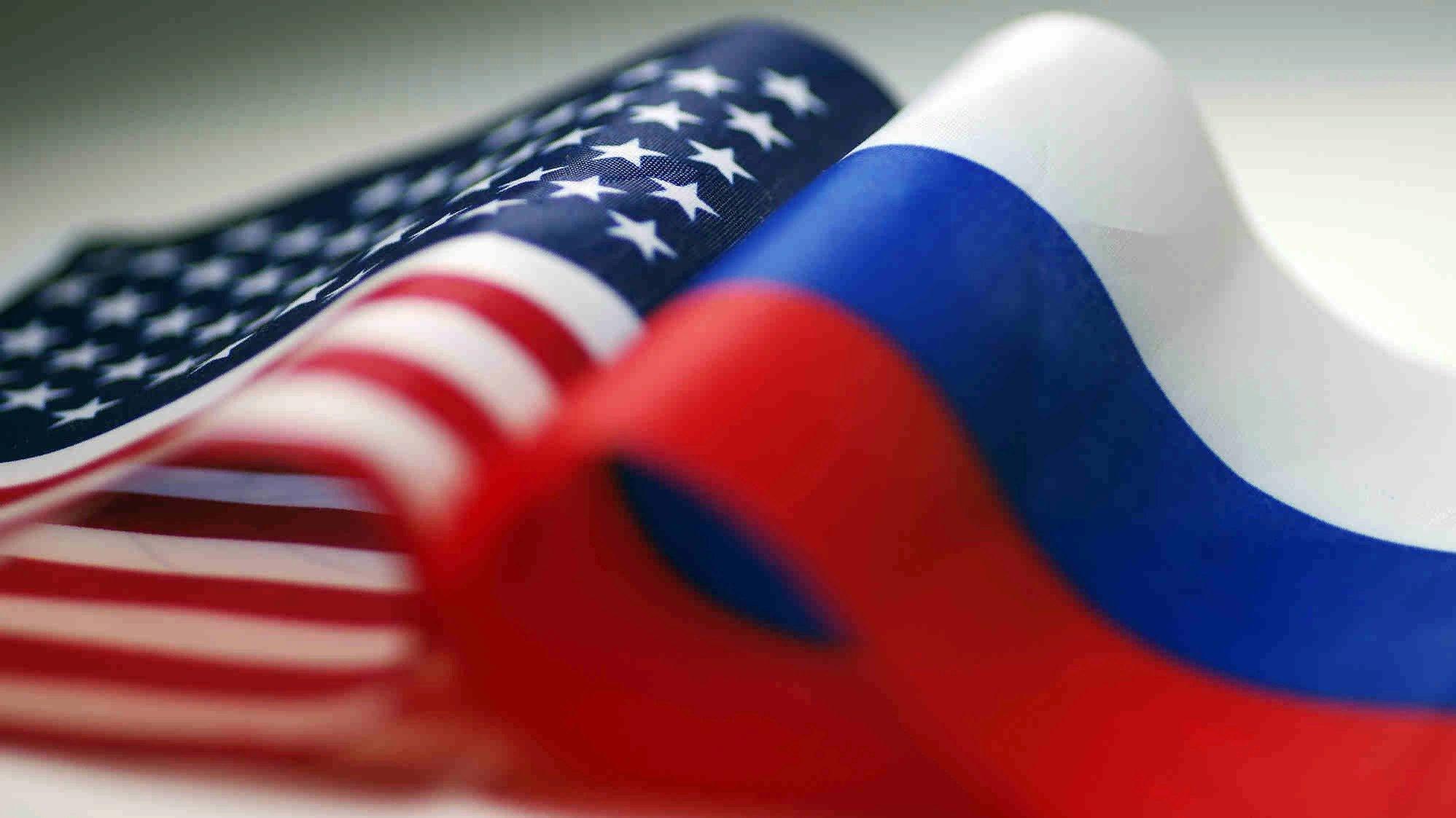Фото флаги сша и россии