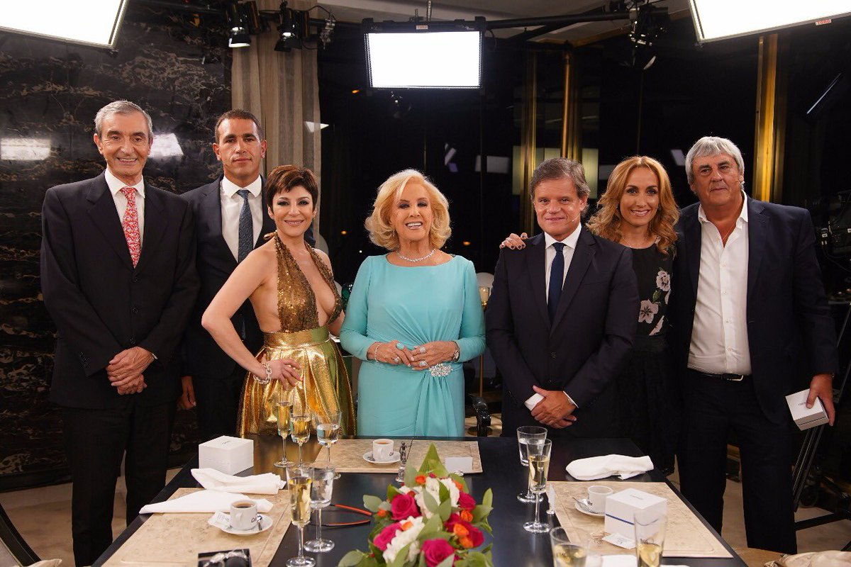 Mirtha Legrand's photo on Romero