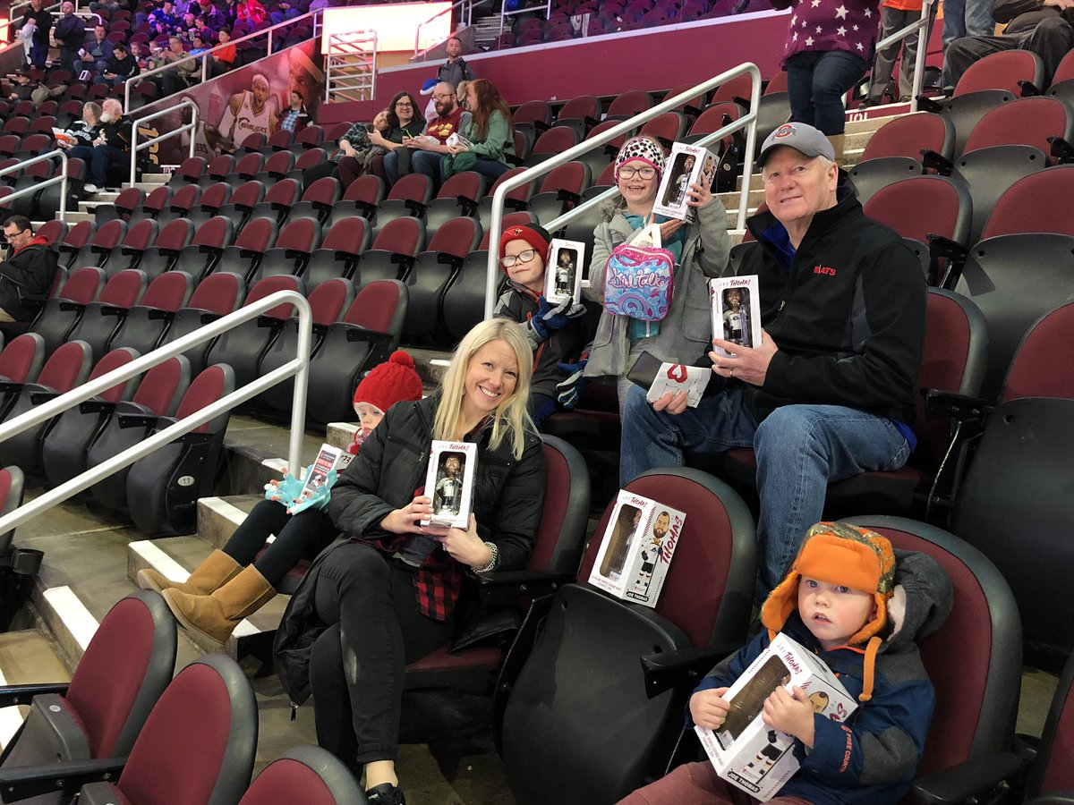 @joethomas73 bobble head night @monstershockey