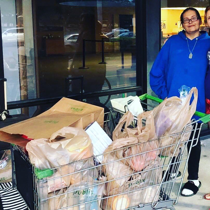 Do more than talk or type. Make the world better by doing. I enjoy buying groceries for the homeless. What can you do today to bless another