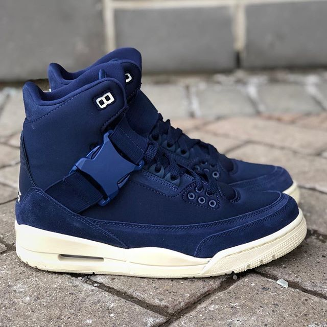 """31b4fb7e8a723c Spring 2019 Collection Women s Air Jordan 3 Retro Explorer XX """"Midnight  Navy"""" BQ0006-401  195.00 CAD Now available in all store locations and  online ..."""