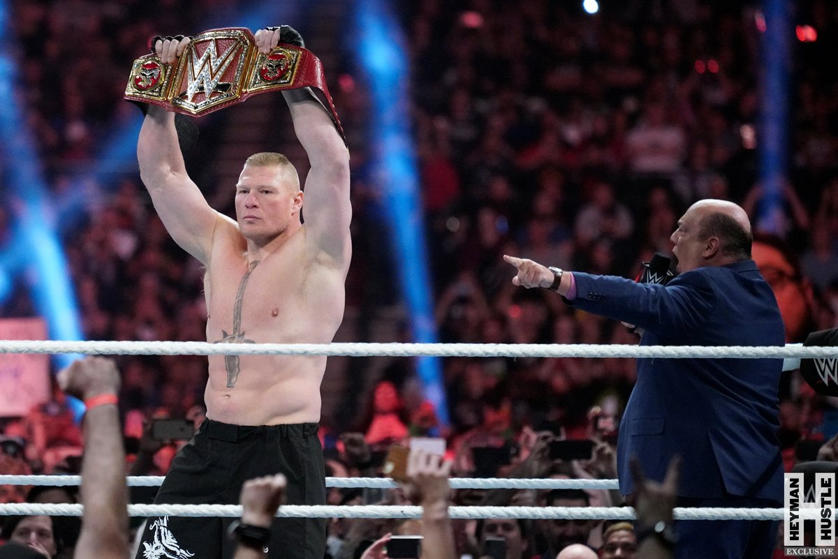 This will be the scene both at @WWE @WrestleMania and the Day After #WrestleMania35. My apologies to those who idolize the infinitely-talented @WWERollins, but YOUR reigning defending undisputed #UniversalHeavyweightChampion .... @BrockLesnar!!!