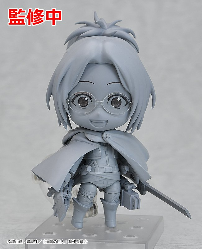 New preview figure of Hange Zoe presented at the Wonder Festival 2019 [Winter] by Good Smile company!   #wf2019w <br>http://pic.twitter.com/1Hwxtr3Lye