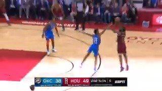 Step back seviyesi daha ne kadar yükseğe çıkabilir? Yanıt işin ustası James Harden'dan. (via: @BleacherReport) #NBA