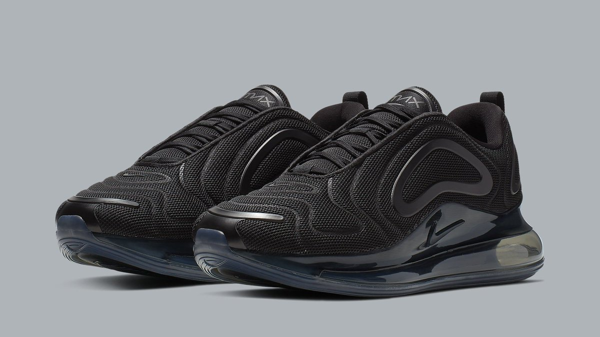 the latest afc1c ffb9a  SoleCollector 3 months. nike readies the air max 720 in triple black