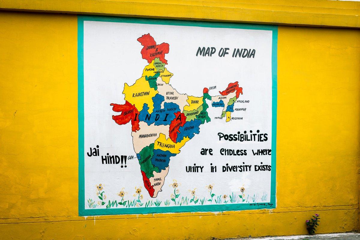 موقع الهند الجغرافي