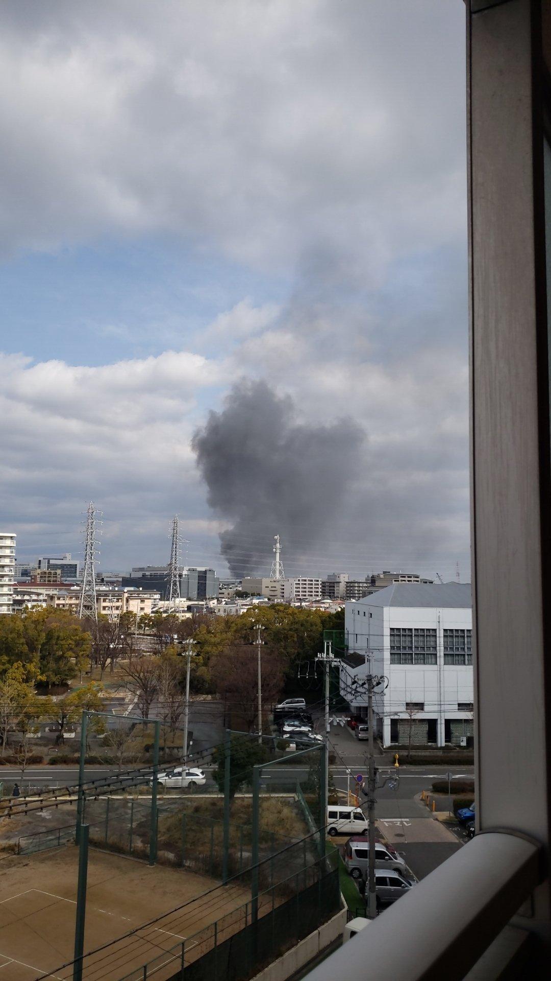 画像,外に出たら火事、、、幸先悪いなぁ、、 https://t.co/Ko4KDm0t1w。