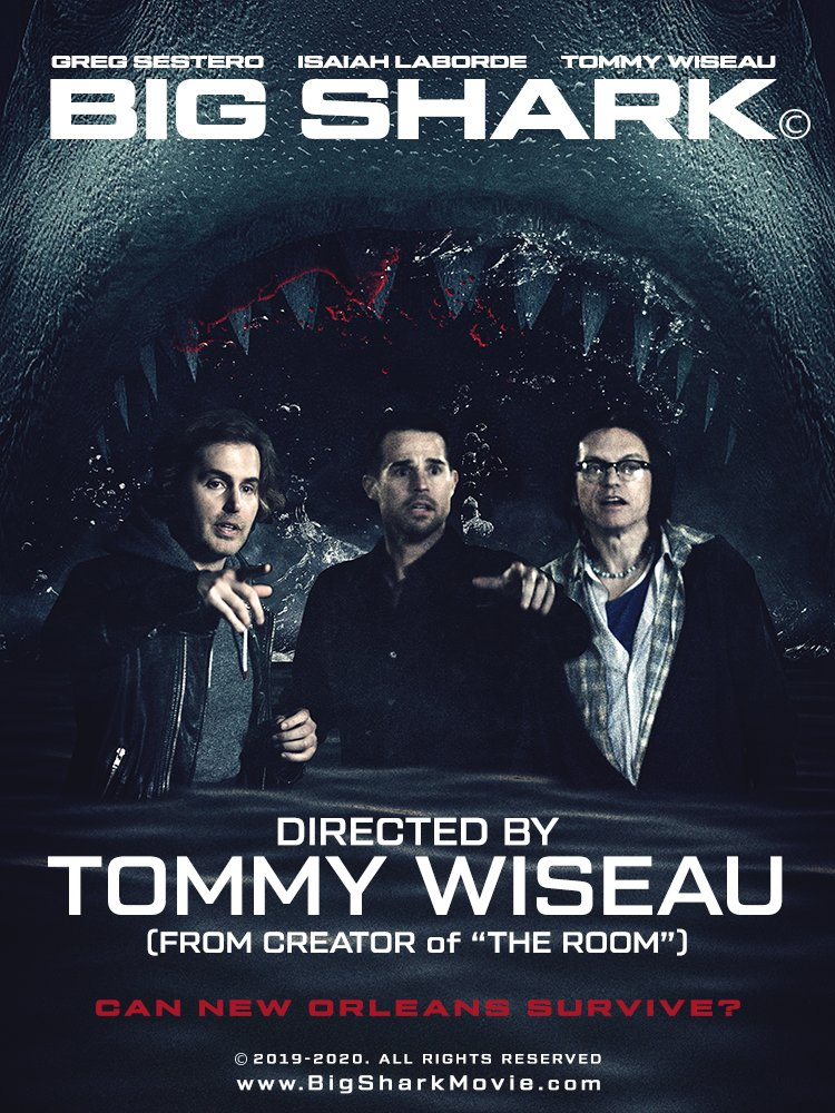 Tommy Wiseau Released A Teaser And A Poster For His Next Movie 'Big Shark' (Which He Hasn't Filmed Yet)