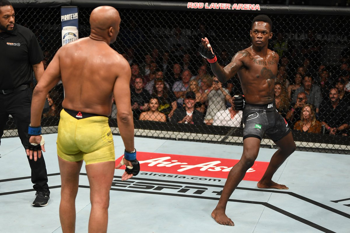 DzBTw_qU0AEiXTY UFC 234 Results: Israel Adesanya Defeats Anderson Silva In A Super Dynamic Fight! (Highlights)