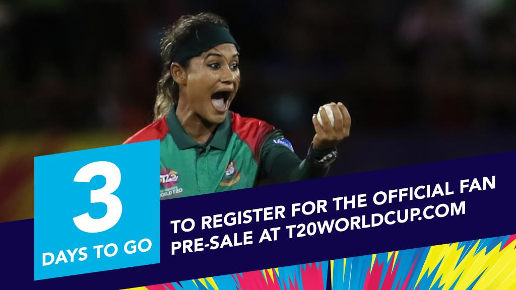 It will feel great to know you'll get your hands on tickets once you've registered! 👉 http://www.T20WorldCup.com #T20WorldCup