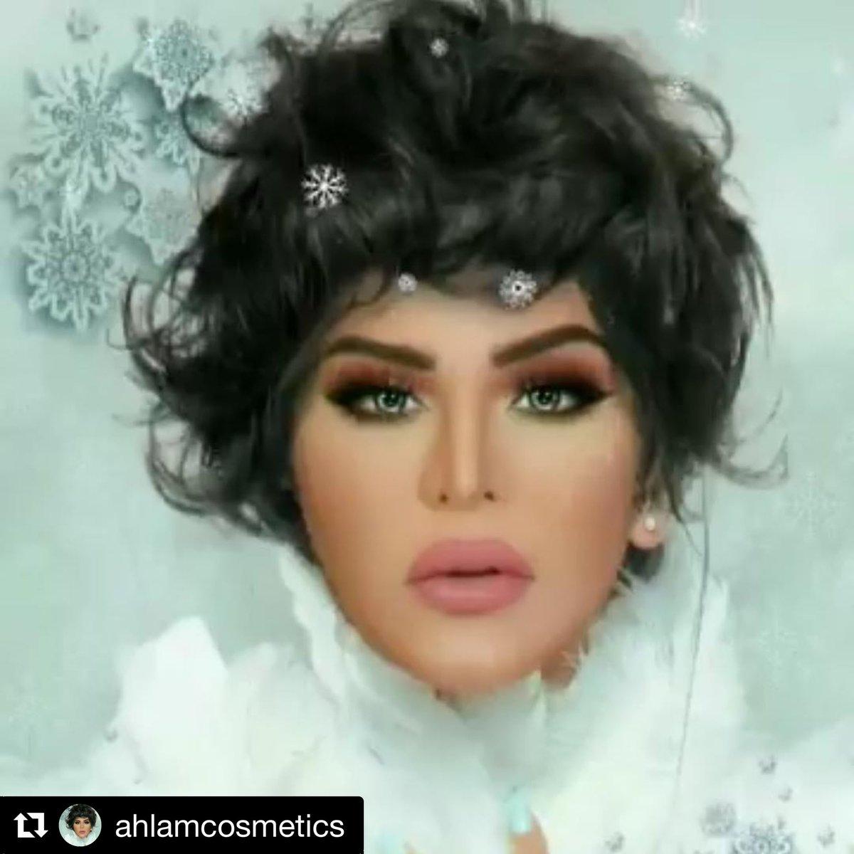 #follow #me 👑👸🏻🙏🏻🌹 in my #Instagram #ahlamcosmetic 😘