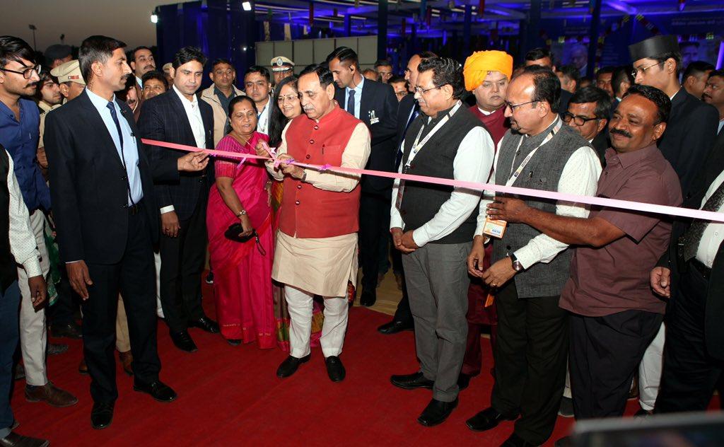 Inaugurated Saurashtra Book Fair and Literature Festival at Rajkot.