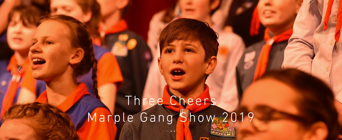 Marple Gang Show 21 - 30 March 2019