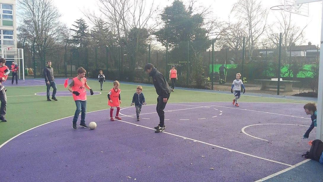 We've started a FOSP 'Football Club'.  Every Saturday, from 9 - 11am, the informal under-8s club will take place in the  Stoneydown Park compound. Girls and boys welcome -> parents/carers must stay #E17 #Walthamstow #stoneydownpark #pretoriavillage