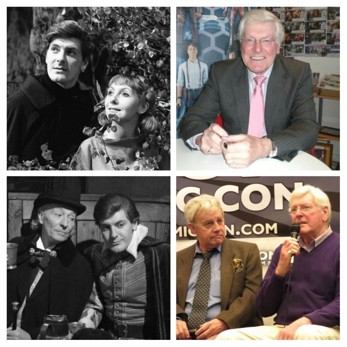 Wishing Peter Purves aka Steven Taylor a very happy birthday  With thanks to for the pics.