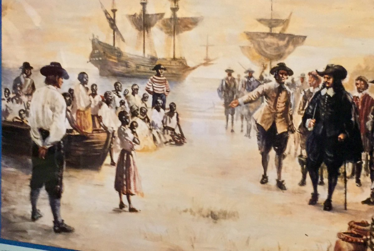 1619-2019. 400 years since the first Africans arrived in English America. The Tucker family of Hampton VA say they are descendants of captives from Angola on that pirate ship called White Lion, Aug 1619.  It's BLACK HISTORY MONTH.  See their story and more Monday on abc7 News.