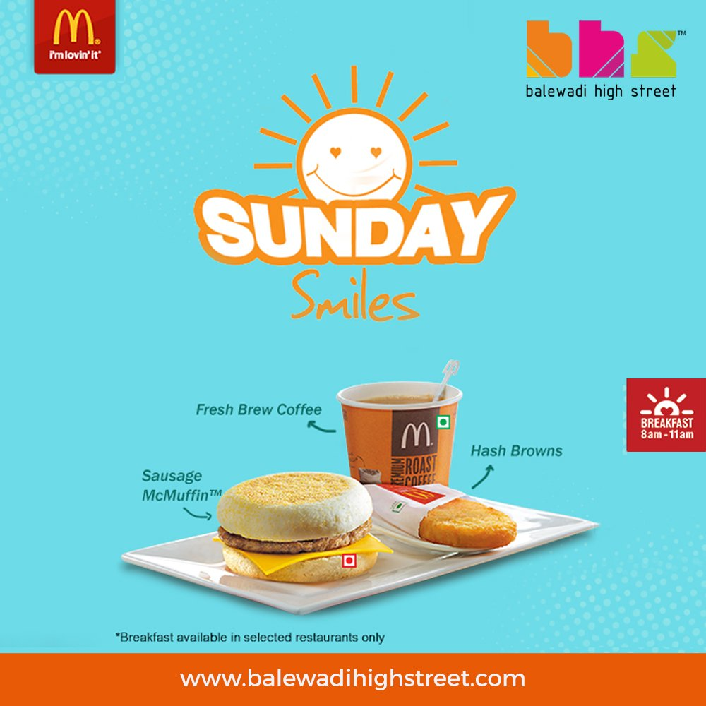 Need some motivation to brighten up your Sundays? #Mcdonalds #McD #BHS #spoiltbychoice #lifeatbhs #worldcuisine #perfecthangout #hangoutdestination #placetobe #drinkstagram #drinkporn #foodporn #foodiehub #weekend #chillout