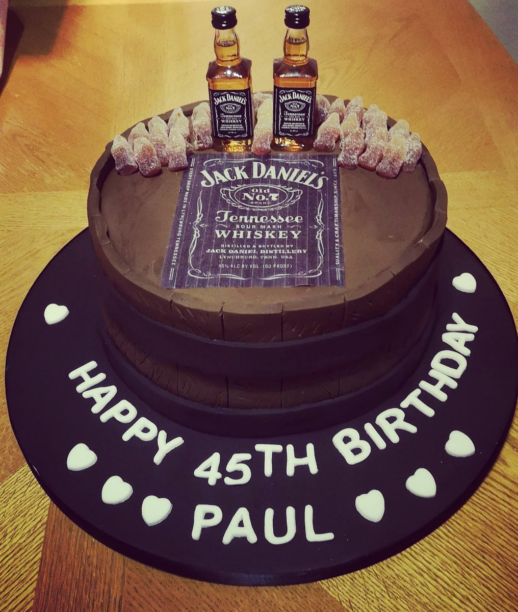 Prime Hashtag Jackdanielscake Sur Twitter Personalised Birthday Cards Paralily Jamesorg
