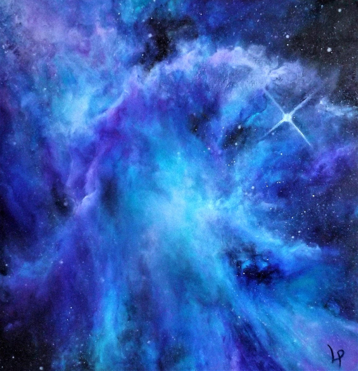 Finger-painting the cosmos one digit at a time :)