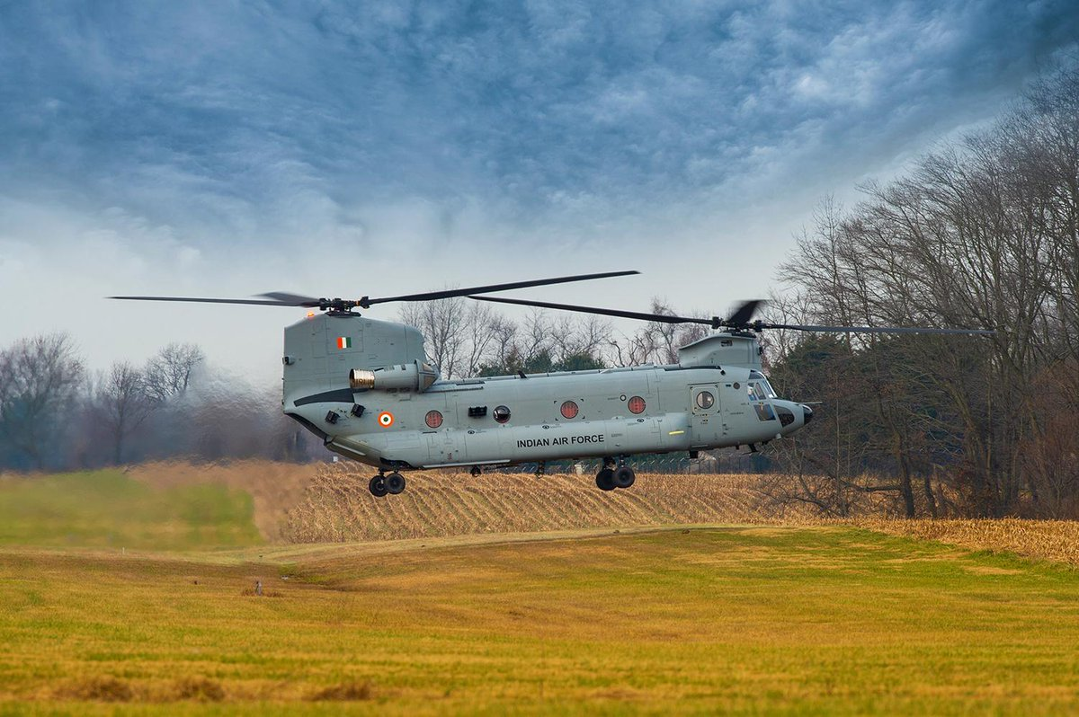 First batch of four Chinook helicopters for IAF arrives at Gujarat port from America ahead of schedule