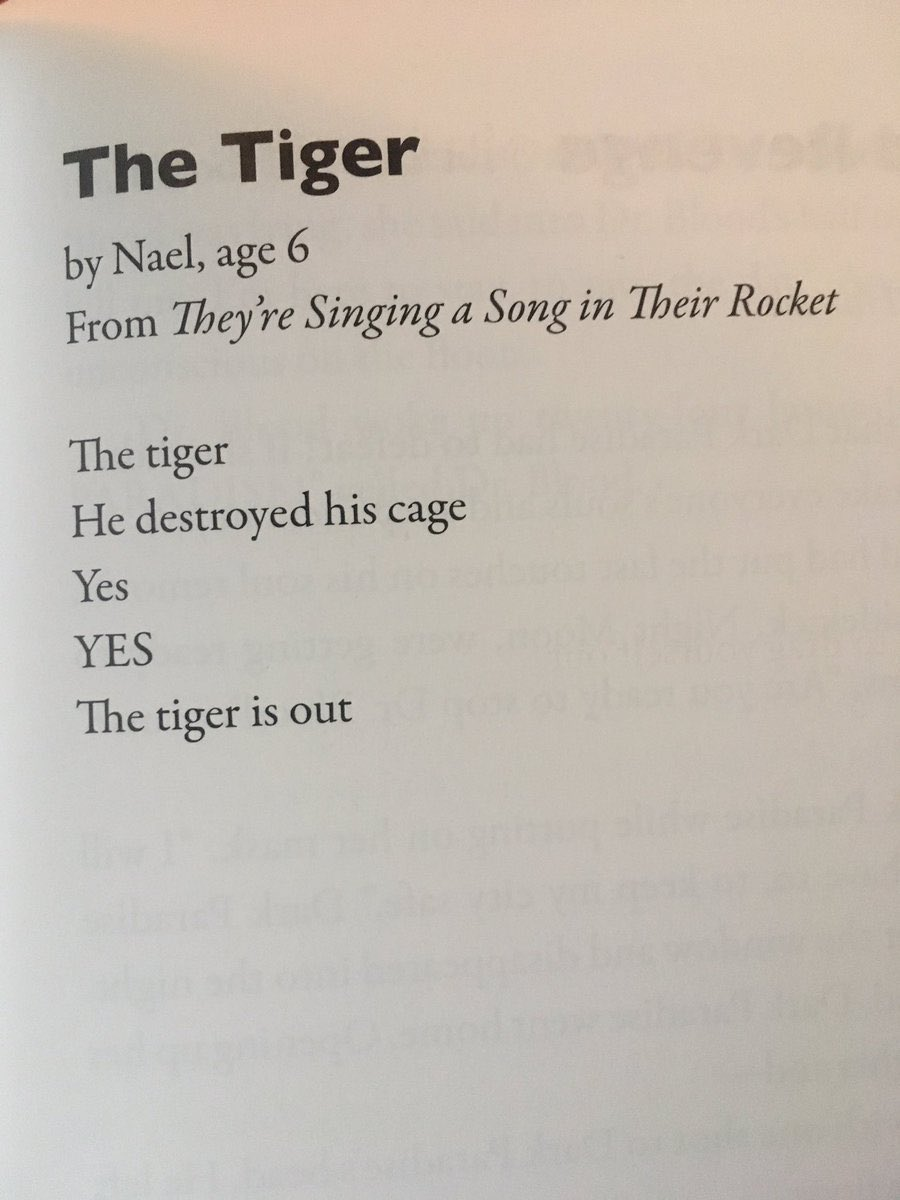 Reminder this is one of the best poems I've read, ever