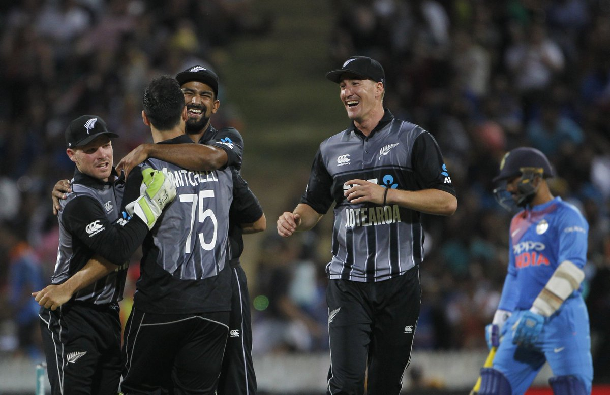 Congratulations to New Zealand on winning the series 2-1 #NZvIND