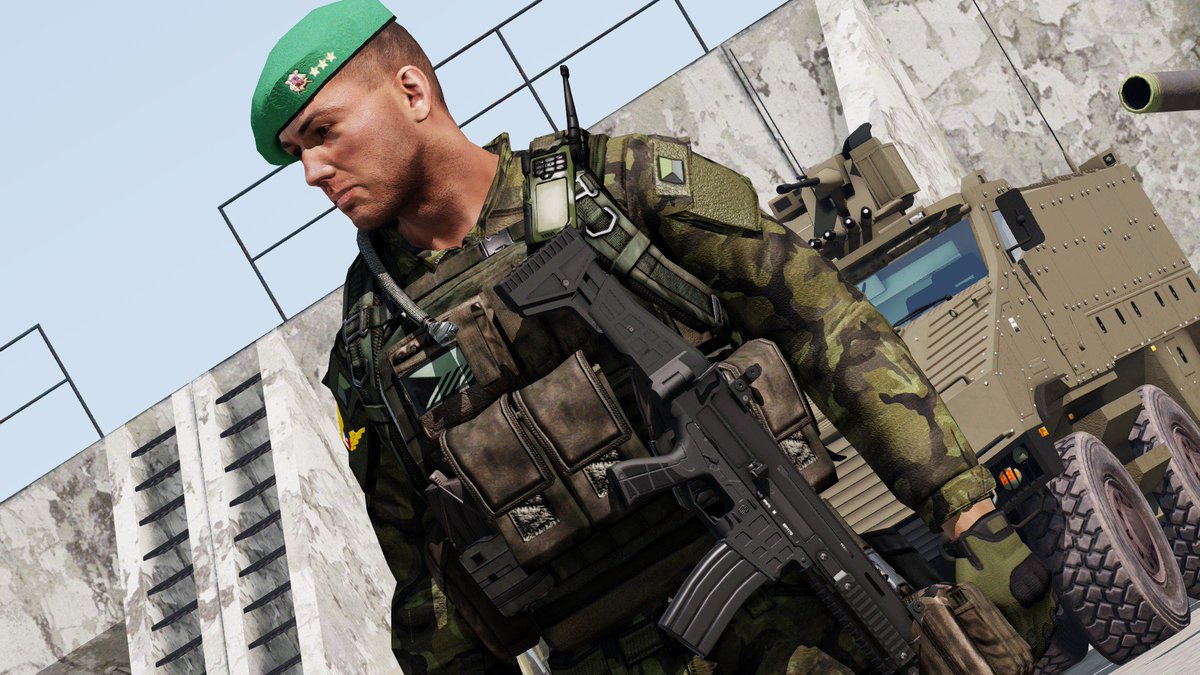 CZ BREN 2 for #arma3 coming out soon! The release is planned on