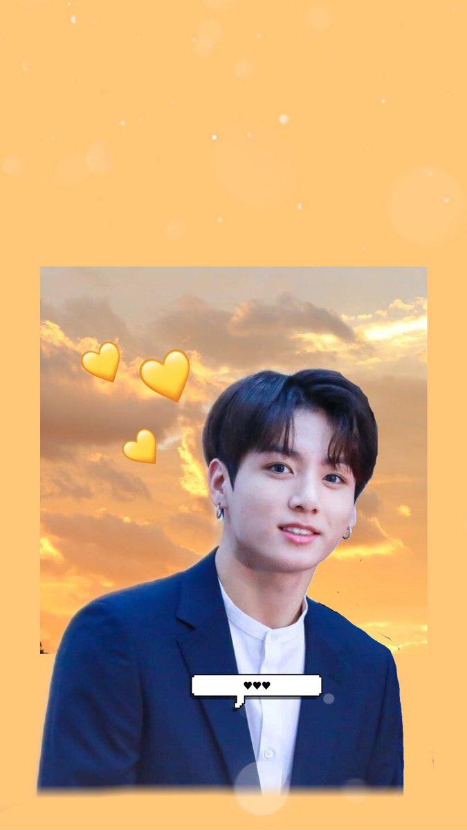 Hère Is Another Yellow Jungkook Wallpaperlockscreen Ive