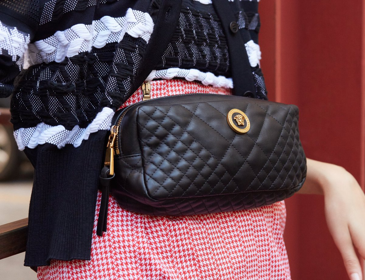 922564688f The finishing touch: a quilted nappa leather belt bag from the ...