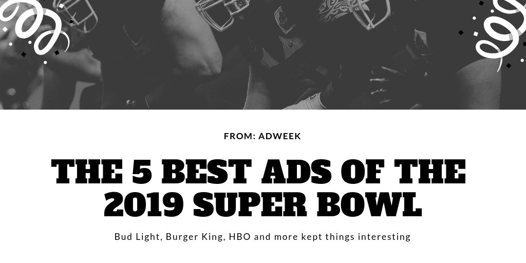 test Twitter Media - We watched, we laughed and were made to think witty is still the best way ads can capture audiences attention. #superbowlLIII #advertising #media #creativity #Branding #socialmedia #smarttv #LG #agencylife https://t.co/ArJKLM4wZv https://t.co/J0XfQspxMm