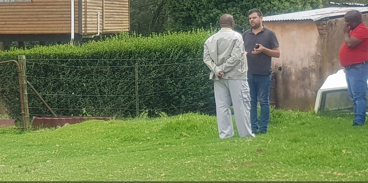 #ANC Chairperson Gwede Mantashe has shown his Eastern Cape properties to the media. #sabcnews   Image: @ZManinqana